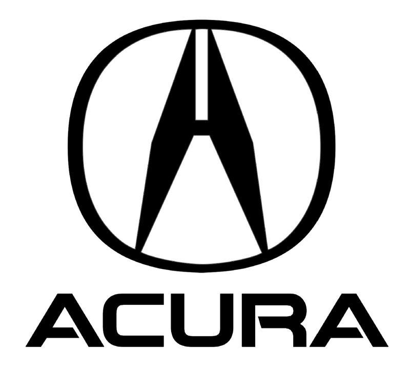 Acura Logo Vector Material.